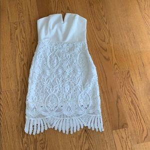 Dresses & Skirts - Beautiful white strapless dress